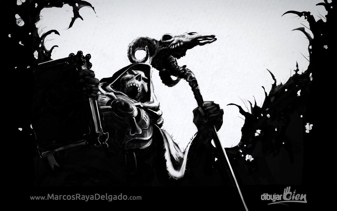 Karthus con la skin de Skeletor