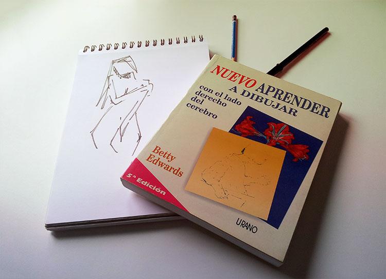 libro aprender a dibujar con el lado derecho del cerebro
