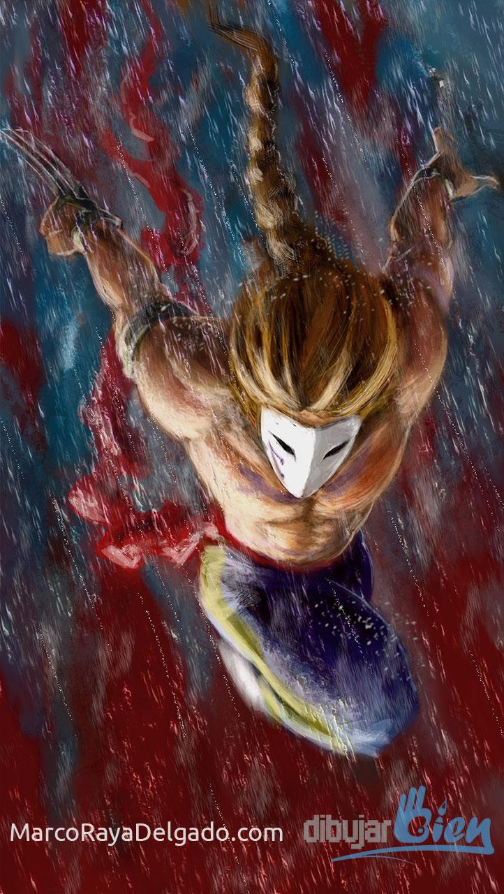 Vega, el macho español de Street Fighter
