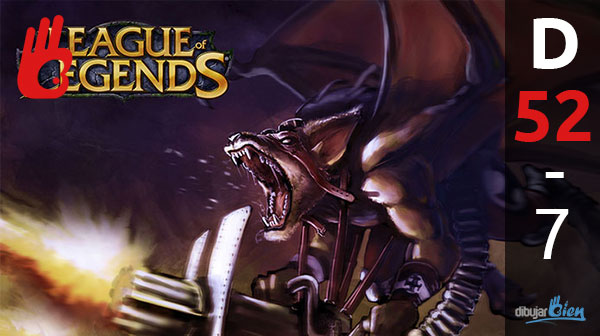 Cómo dibujar bien: Un nuevo campeón de League of legends. D-52 – Dibujar Bien.com