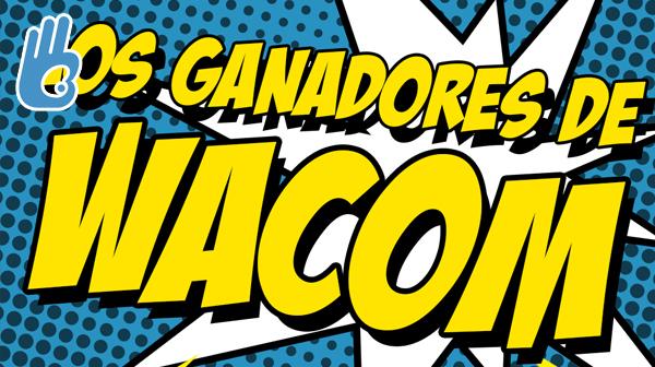 Los ganadores de Wacom