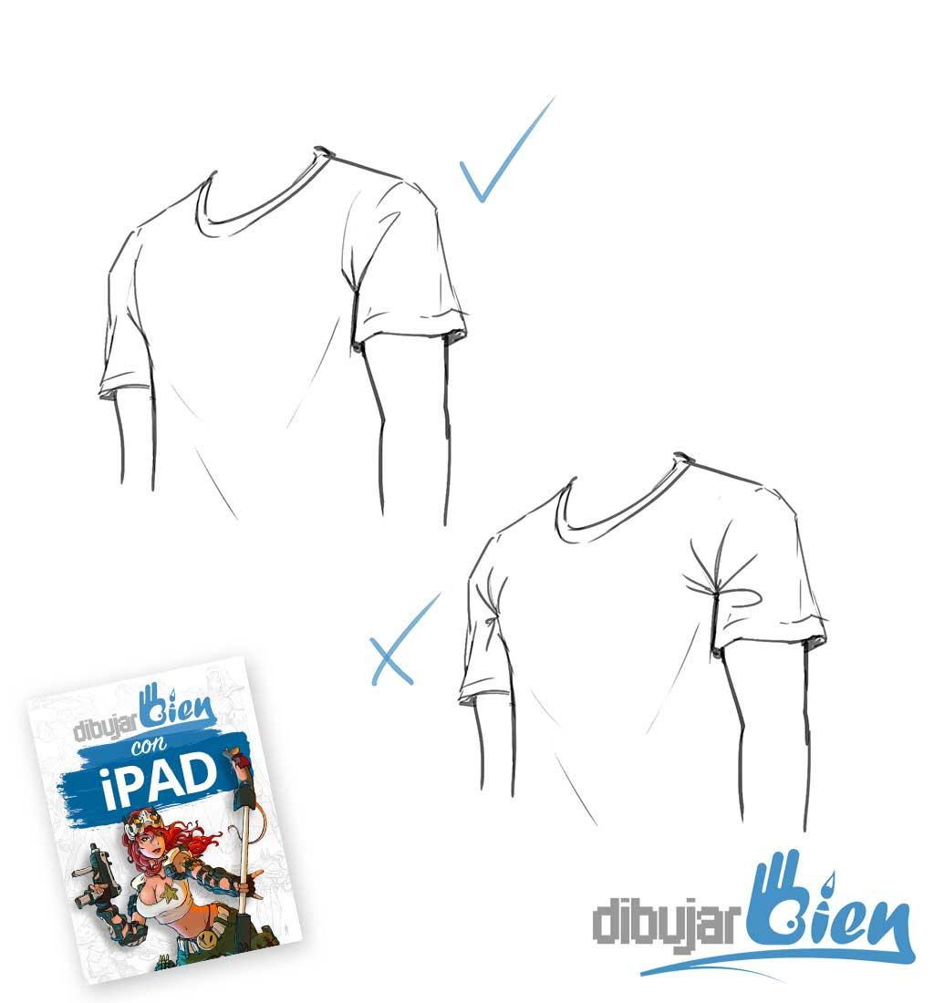 Dibujo de ropa y tela, aprende a dominar las arrugas - Dibujar Bien