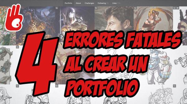 4 Errores fatales al crear un Portfolio