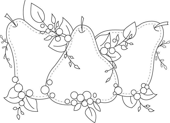 En Frutas Colorear De Dibujos Fruteros Para
