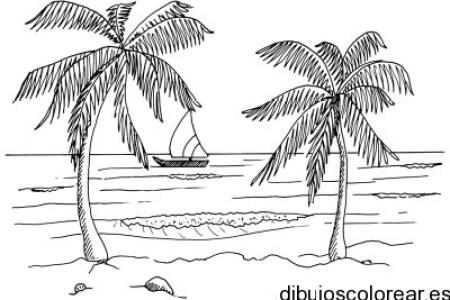 best Paisajes De Playa Para Colorear image collection