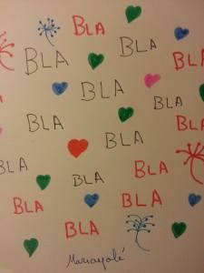 Bla, bla, bla