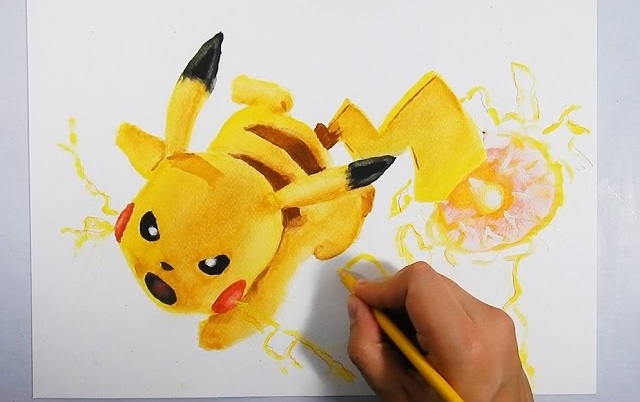 Como Dibujar A Pikachu 3d How To Draw Pikachu 3d Pokemon Go
