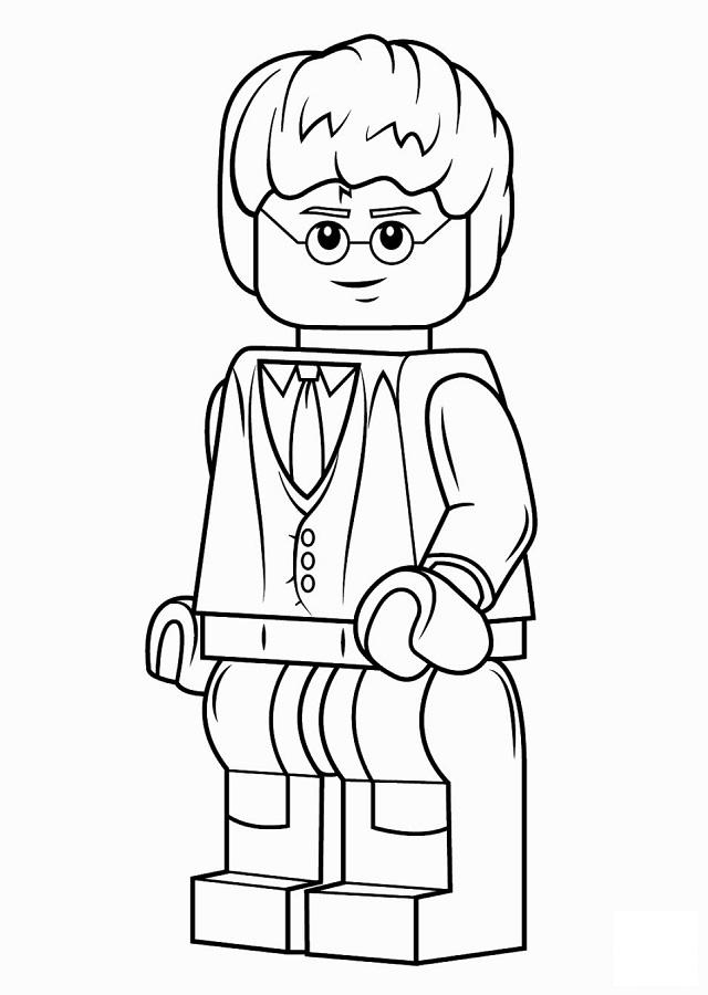Temos milhares de desenhos para colorir gratuitos para crianças. 💠 Dibujos para colorear Lego - Dibujosparacolorear.eu
