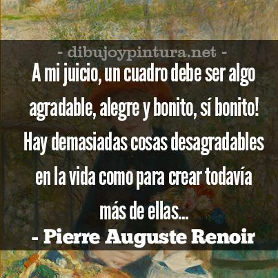 Citas Y Frases De Pierre Auguste Renoir