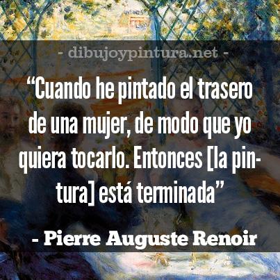 Citas de Pintores Famosos Auguste Renoir