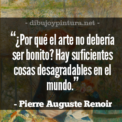 Frases De Pintores Famosos Pierre Auguste Renoir