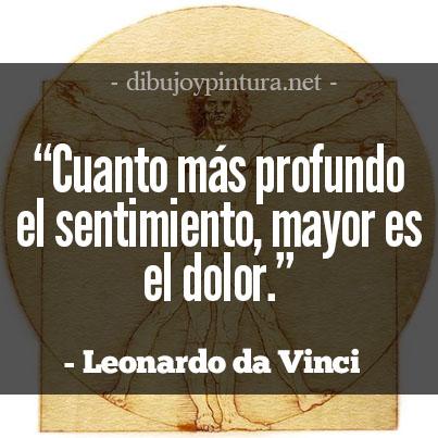 Frases Celebres De Leonardo Da Vinci