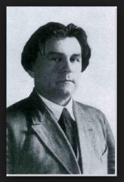 Pintor abstracto famoso Ruso Kazimir Malevich