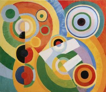 Ritmo, Alegría de la vida Obra maestra abstracta Roberto Dalaunay