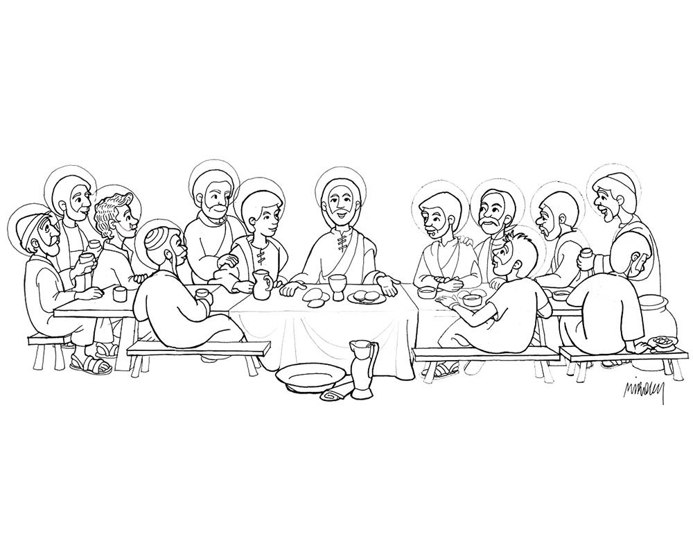 Imagenes Para Colorear Caricaturas: Dibujos De Semana Santa Para Colorear
