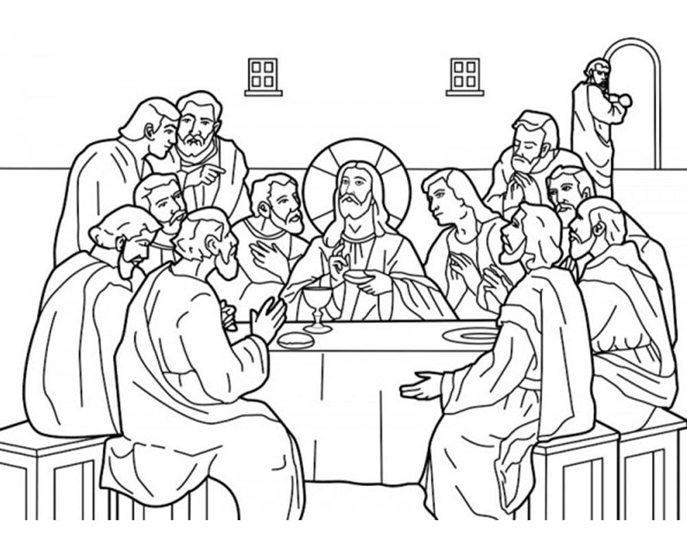 Dibujos Para Colorear Para Ninos De Semana Santa