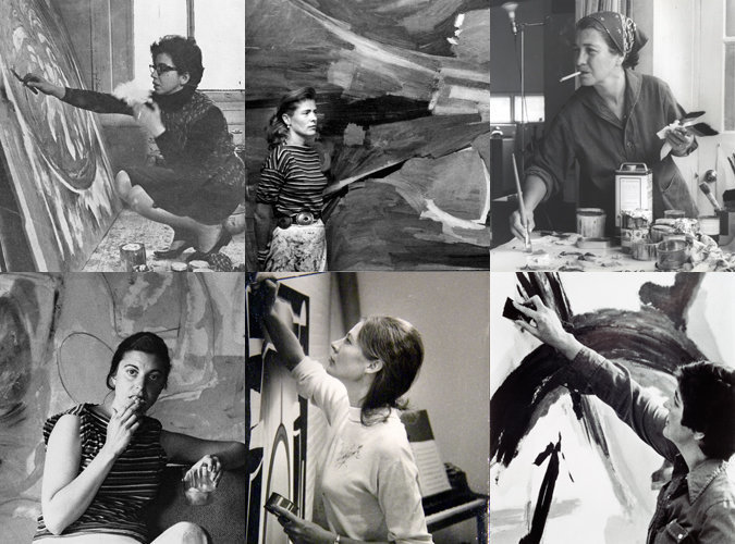 Artistas Femeninas Del Expresionismo Abstracto