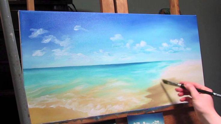 Cómo Pintar Una Escena De Playa