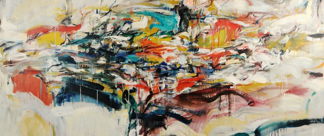 Joan mitchell pintora expresionismo abstracto