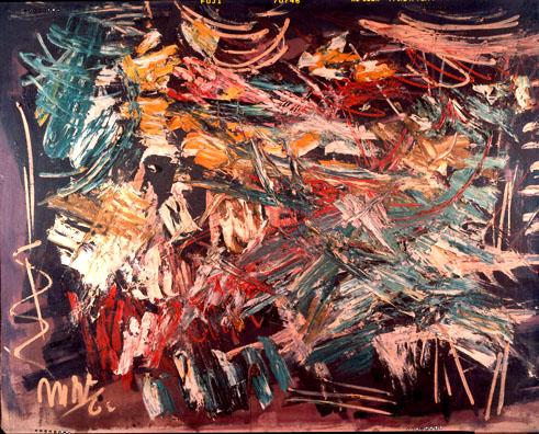 Obras de la artista expresionista abstracta Michael West