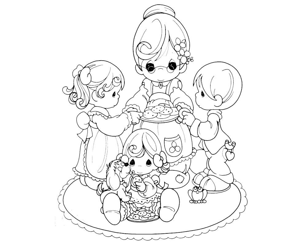 Dibujos para colorear y regalar a mi abuela el día de las mamás