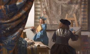 L'atelier du Peintre- Vermeer