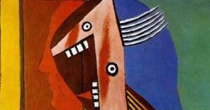 Buste de Femme et Autoportrait - Picasso 1929