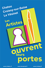 Les artistes ouvrent leurs portes à Chatou, Croissy, Le Vésinet