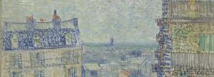 Van Gogh - Vue depuis l'appartement de Théo