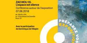 Conférence Zao Wou-Ki