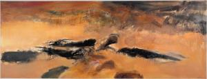 En mémoire de May - Zao Wou-Ki 1972