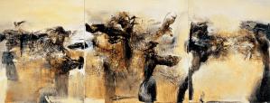 Hommage à André Malraux - Zao Wou-Ki 1976