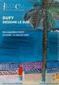 DUFY DESSINE LE SUD