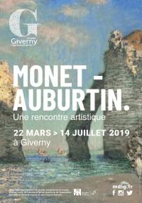 Monet-Auburtin : une rencontre artistique