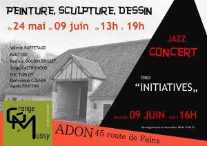 rencontre avec 7 artistes, peinture, sculpture, dessin