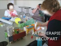Artthérapie - « Récup'Art ».