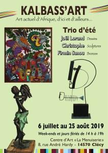 Exposition Trio d'Été