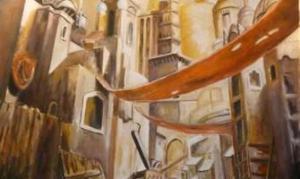 8 eme Expo des eleves de l'atelier de peinture John Mckenzie