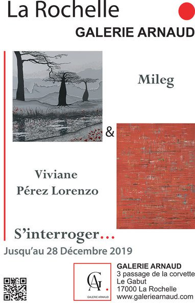 """Exposition de peinture """"S'interroger..."""""""