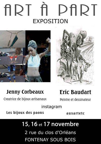 Exposition et découverte d'atelier d'artistes et créateurs