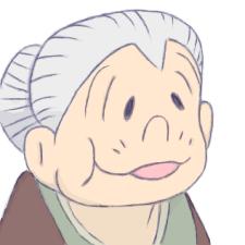 「おばあちゃん アニメ」の画像検索結果