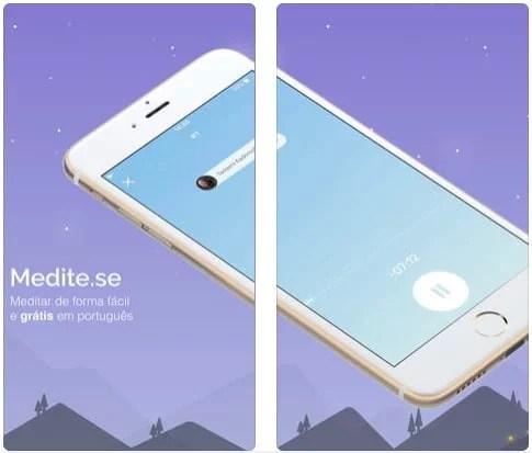 App Medite.se - Dica App do Dia