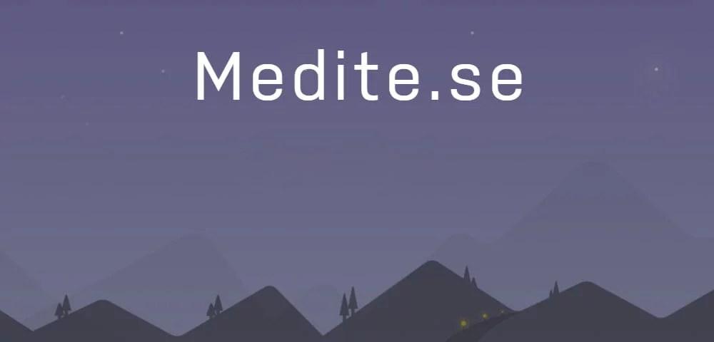 Medite-se - Dica App do Dia