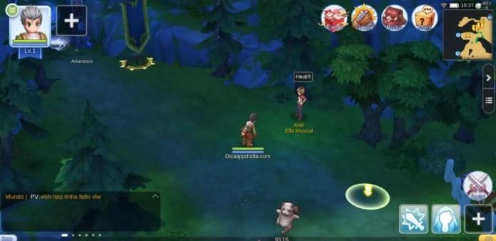 Tele inicial do jogo - Dica App do Dia
