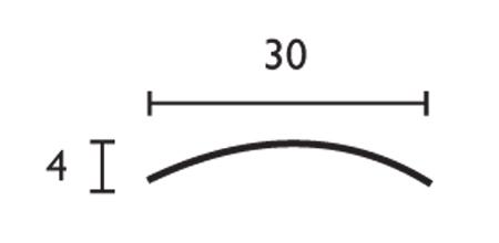 Media caña - 30