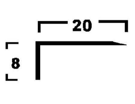 Ángulo - 20x8