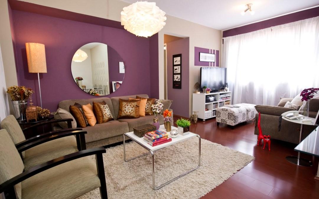 Cores para a sala de estar – abuse do porcelanato e transforme os ambientes