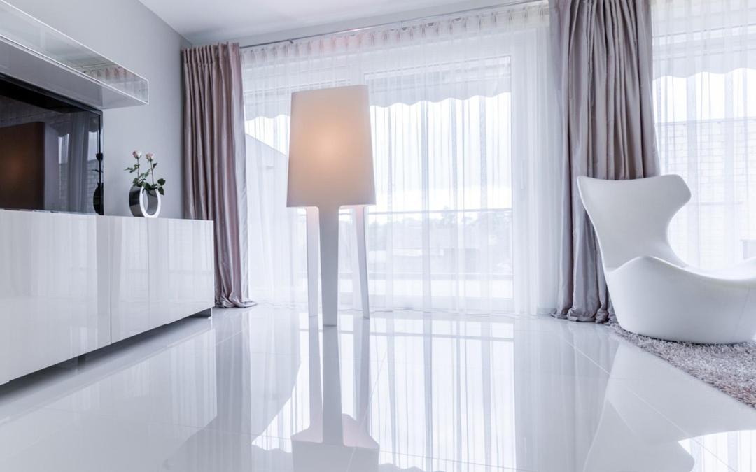Porcelanato polido, elegância garantida na decoração do ambiente