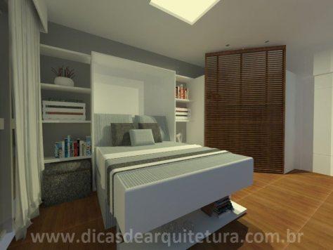 sala quarto - com cama - 1