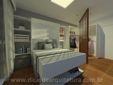 sala quarto - com cama - 2
